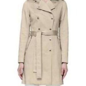 New Soia &Kyo Oatmeal trench coat rain coat Medium